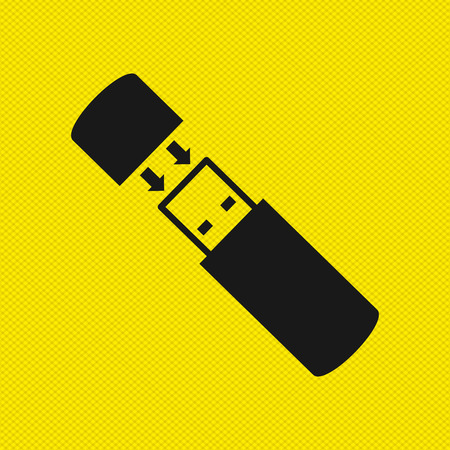 device: usb device design, vector illustration eps10 graphic