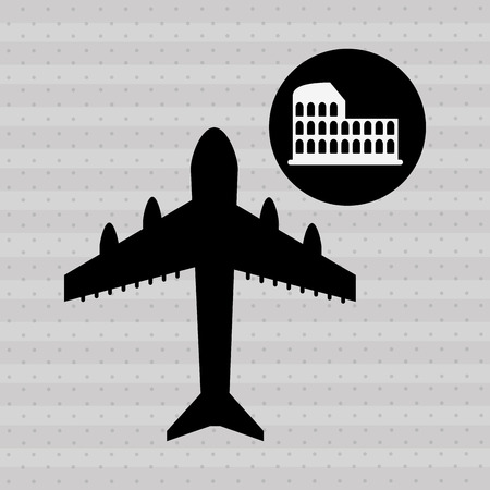fly around: fly around the world design, vector illustration eps10 graphic Illustration