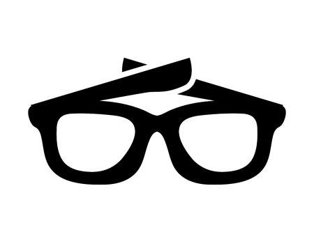 sunglasses isolated: sunglasses isolated icon design, vector illustration eps10 graphic Illustration