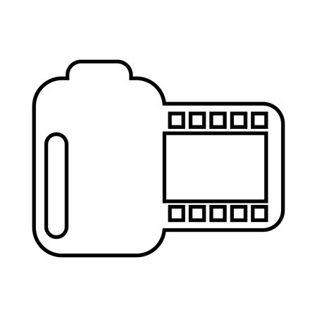 photographic: roll photographic isolated icon design, vector illustration eps10 graphic