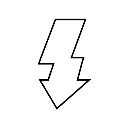activate: activate flash light isolated icon design, vector illustration eps10 graphic