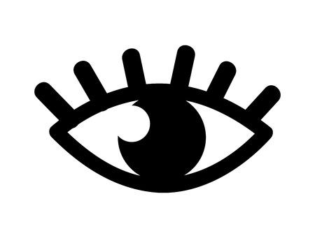 human eye: human eye icon isolated design, vector illustration eps10 graphic