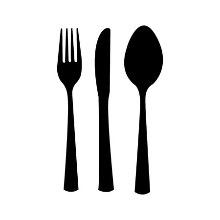 table cutlery isolated icon design, vector illustration  graphic
