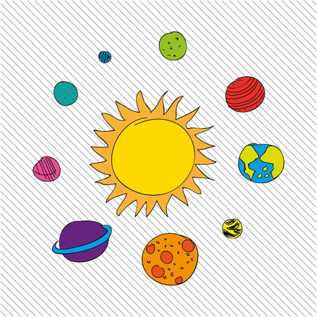 astronomy: drawing astronomy design, vector illustration eps10 graphic