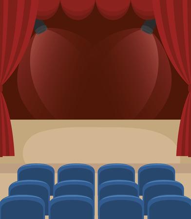 stagecraft concept design, vector illustration eps10 graphic