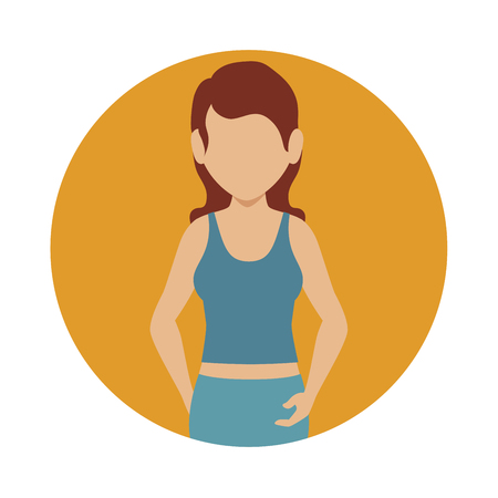 athletic: athletic person design, vector illustration eps10 graphic