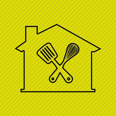 depot: home depot design, vector illustration eps10 graphic Illustration