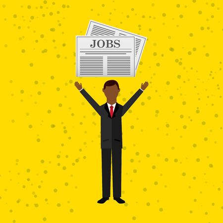 new opportunity: jobs concept design, vector illustration eps10 graphic