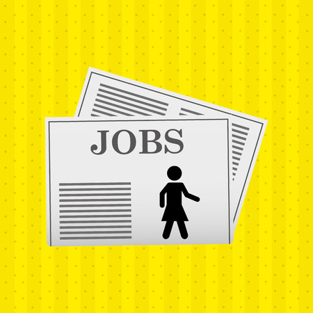 jobs concept design, vector illustration eps10 graphic