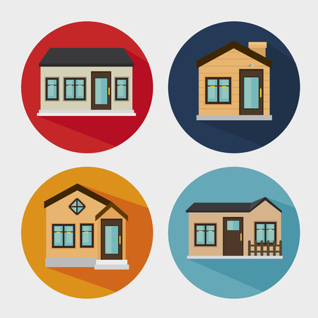 mansion: beautiful mansion isolated icon design, vector illustration  graphic