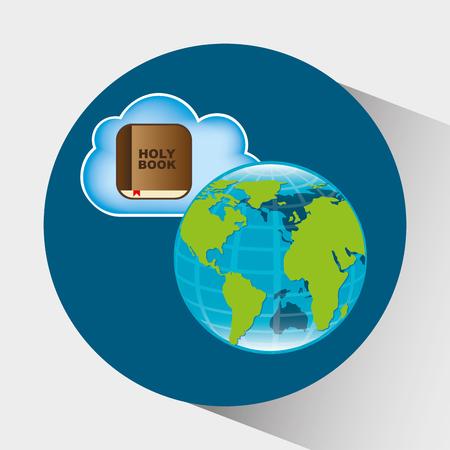 reading app: cloud computing design, vector illustration eps10 graphic
