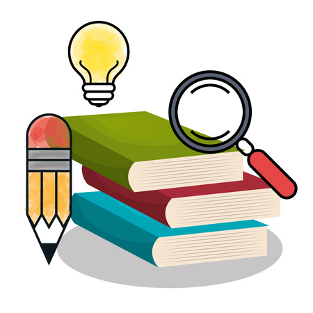 textbooks: textbooks and educational helpful isolated icon design, vector illustration  graphic