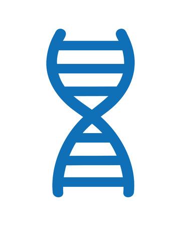 molecule symbol: dna molecule symbol isolated icon design, vector illustration  graphic