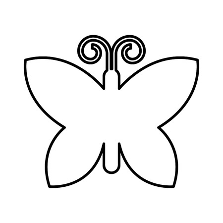 butterfly isolated: butterfly  isolated icon design, vector illustration  graphic Illustration