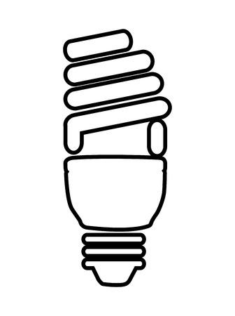 saver: saver bulb isolated icon design, vector illustration  graphic