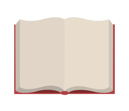 open Book isolated icon design, vector illustration  graphic