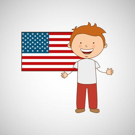 world flag: children around the world design, vector illustration eps10 graphic
