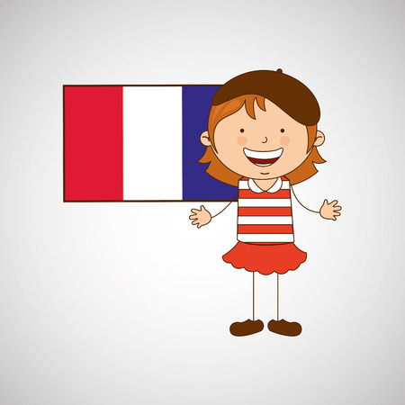 nationalities: children around the world design, vector illustration eps10 graphic