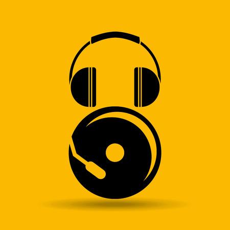 sound system: sound system design, vector illustration eps10 graphic Illustration