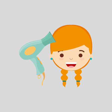 hairdressing salon: hairdressing salon design, vector illustration  graphic Illustration