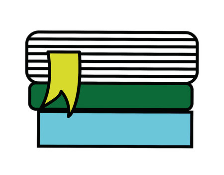text books: text books isolated icon design, vector illustration  graphic
