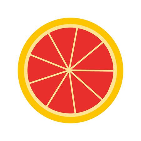 citrus fruit: citrus fruit isolated icon design, vector illustration  graphic