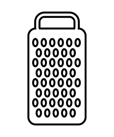 grater: cheese grater isolated icon design, vector illustration  graphic