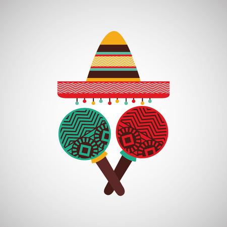 hispanics: mexican culture design, vector illustration eps10 graphic Illustration