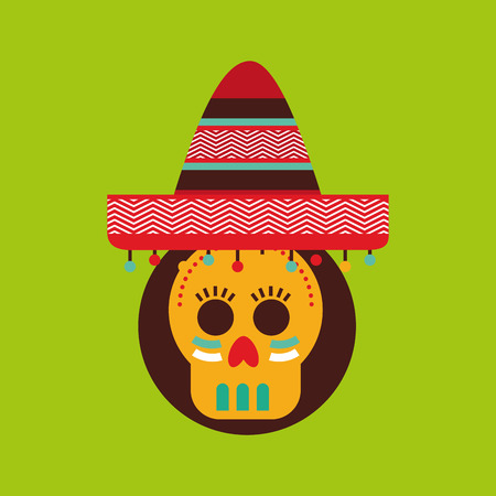latin americans: mexican culture design, vector illustration eps10 graphic Illustration