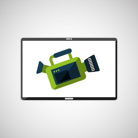 electronic devices: electronic devices design, vector illustration  graphic Illustration