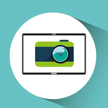 electronic devices: electronic devices design, vector illustration graphic