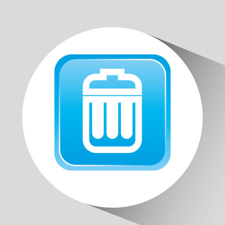 application recycle: files management design, vector illustration eps10 graphic