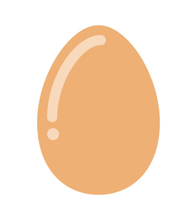 delicious egg hen  isolated icon design, vector illustration  graphic Imagens - 58929322