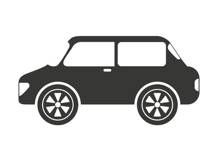 sedan: sedan style car isolated icon design, vector illustration  graphic