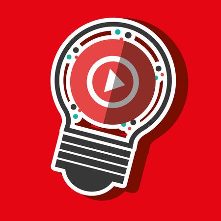 media network: social media marketing design, vector illustration graphic