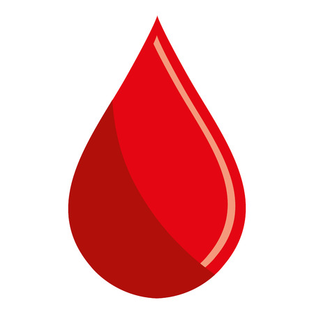 transfuse: Blood drop icon, blood donation and transfusion theme design, vector illustration. Illustration