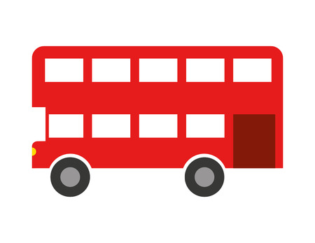 london bus: london bus isolated icon design, vector illustration  graphic