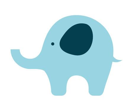 toy elephant: Baby toy elephant isolated icon design, vector illustration  graphic Illustration