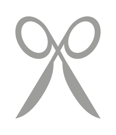 scissors cutting: scissors cutting isolated icon design, vector illustration  graphic