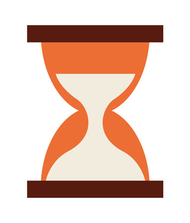 hour glass: hour glass  isolated icon design, vector illustration  graphic
