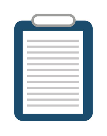 clipboard isolated: clipboard isolated icon design, vector illustration  graphic Illustration