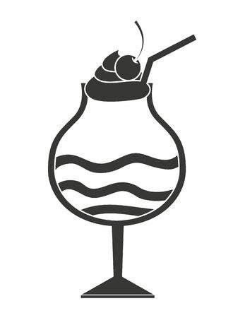 milk shake: milk shake isolated icon design, vector illustration  graphic