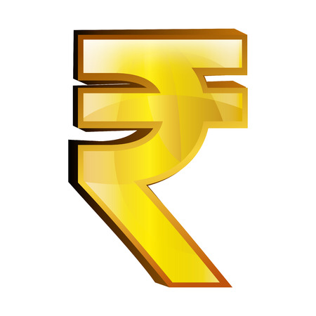 incomes: Currency money Rupiah symbol icon over white background, vector illustration.