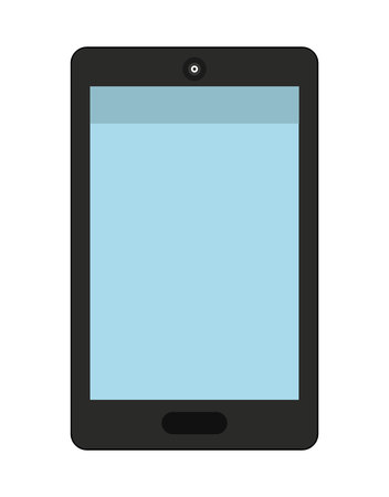 communicator: smartphone isolated icon design, vector illustration  graphic Illustration
