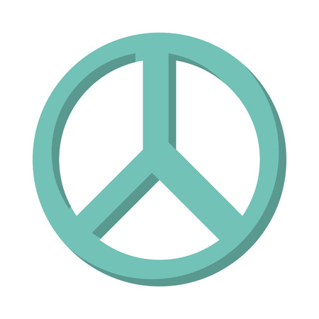 antiwar: peace symbol isolated icon design, vector illustration  graphic