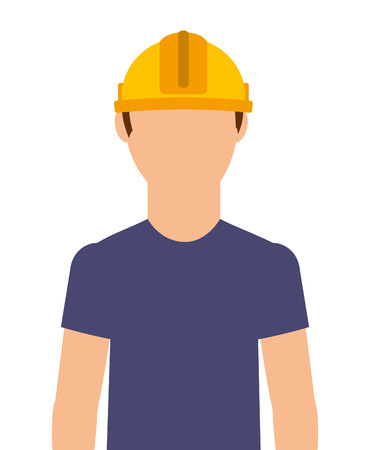 electricista: técnico eléctrico aislado icono del diseño, ejemplo gráfico del vector