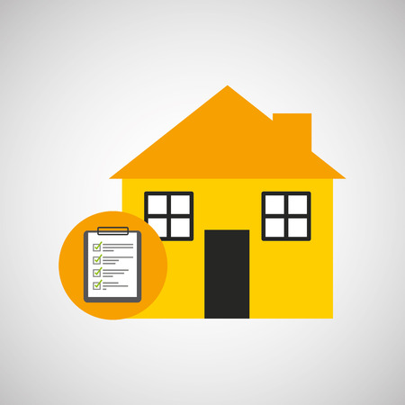 house construction: industry construction house work icon vector illustration