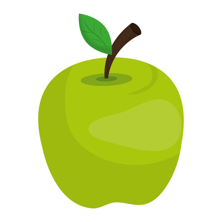 healty food: Fresh fruit isolated icon design, healty food concept vector illustration. Illustration