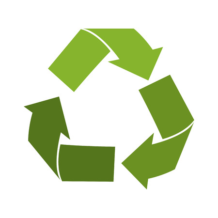 reduce: Reuse, reduce, recycle isolated icon, vector illustration graphic.