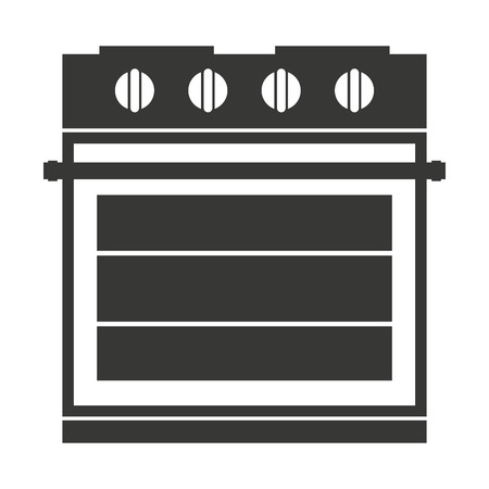 electric stove: electric stove isolated icon design, vector illustration  graphic Illustration